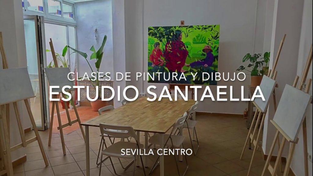 Estudio Santaella Academia de pintura en Sevilla